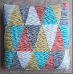 triangle cushion pattern