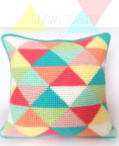 Tunisian Triangles - $4.00 USD