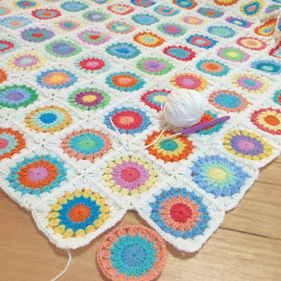 Sunburst Blanket by Poppy & Bliss