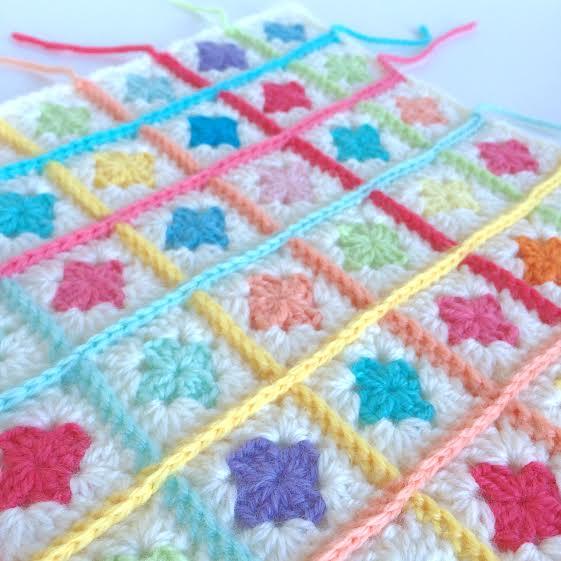 mini granny squares
