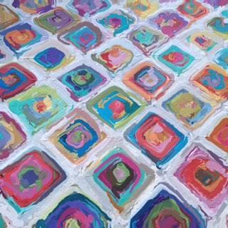 festival blanket_oilpainting
