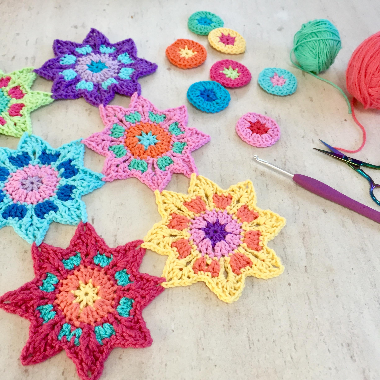 Book Review Crochet Kaleidoscope Poppyandbliss
