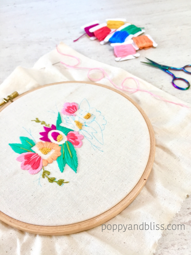 Love_embroidery_wip